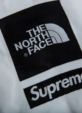 La única chamarra Supreme x The North Face