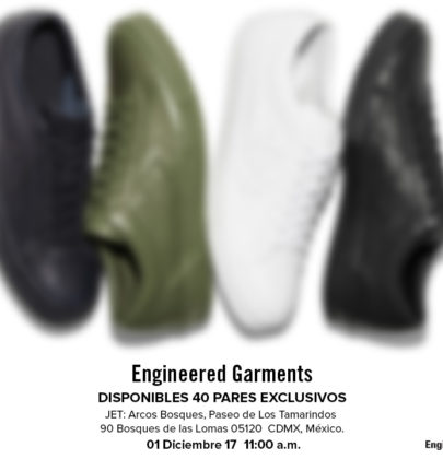 El nuevo Converse Engineered Garments es LIMITADO